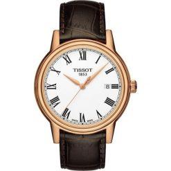 PROMOCJA ZEGAREK TISSOT T-CLASSIC T085.410.36.013.00. Białe zegarki męskie TISSOT, ze stali. W wyprzedaży za 1161,60 zł.