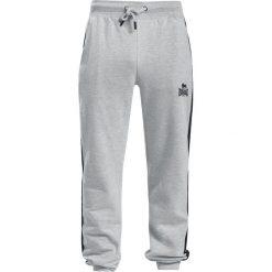 Lonsdale London Oxwick Spodnie dresowe jasnoszary. Szare spodnie dresowe męskie marki Lonsdale London, z nadrukiem, z dresówki. Za 121,90 zł.