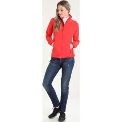Bomberki damskie: Bergans YLVINGEN LADY  Kurtka z polaru strawberry/red