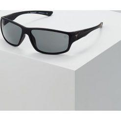 Timberland Okulary przeciwsłoneczne matte black/smoke. Czarne okulary przeciwsłoneczne męskie aviatory Timberland. Za 459,00 zł.