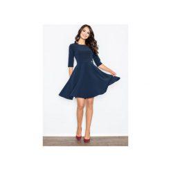 Sukienki: Sukienka M327 Granat