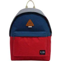 Plecaki męskie: Plecak w kolorze niebiesko-czerwonym – 29 x 40 x 14 cm