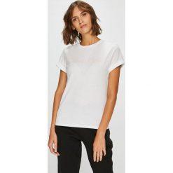 Calvin Klein Underwear - Top. Szare topy damskie marki Calvin Klein Jeans, l, z nadrukiem, z bawełny, z okrągłym kołnierzem. Za 159,90 zł.
