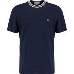T-shirty męskie: Lacoste TH3196 Tshirt basic navy blue