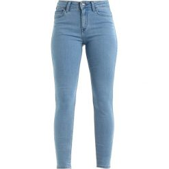 Lee SCARLETT HIGH Jeans Skinny Fit rollin blue. Niebieskie jeansy damskie relaxed fit Lee. Za 299,00 zł.