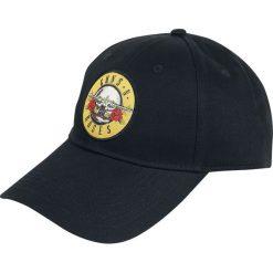 Guns N' Roses Circle Logo Czapka baseballowa czarny. Czarne czapki z daszkiem damskie . Za 69,90 zł.
