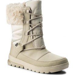 Buty zimowe damskie: Śniegowce MERRELL - Aura Mid Lace Polar Wtpf J45684 Oyster Grey