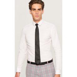 Koszula super slim fit - Biały. Białe koszule męskie slim marki Reserved, l. Za 99,99 zł.