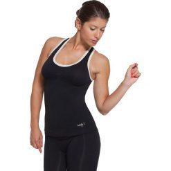 Topy sportowe damskie: Funkcyjny top w kolorze czarnym