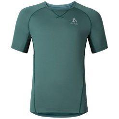 Odlo Koszulka męska T-shirt s/s VIRGO  zielona r. S (347822/40167/S). Zielone koszulki sportowe męskie marki Odlo, m. Za 102,71 zł.