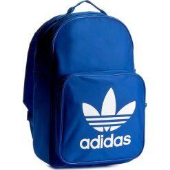 Plecak adidas - BP Clas Trefoil BK6722 Blue. Niebieskie plecaki męskie Adidas, z materiału, sportowe. W wyprzedaży za 119,00 zł.