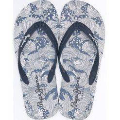 Pepe Jeans - Japonki. Szare japonki męskie marki Pepe Jeans, z gumy. W wyprzedaży za 59,90 zł.