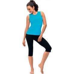 Spodnie dresowe damskie: Gwinner Leginsy GABI bawełna-elastan czarny L