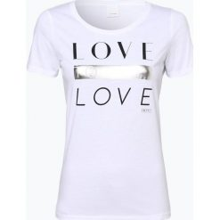T-shirty damskie: BOSS Casual – T-shirt damski – Teslogan, czarny