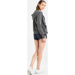 Abercrombie & Fitch TECH LOGO Bluza rozpinana dark grey. Szare bluzy rozpinane damskie Abercrombie & Fitch, l, z bawełny. Za 369,00 zł.
