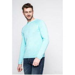 S. Oliver - Sweter. Szare swetry klasyczne męskie S.Oliver, l, z aplikacjami, z bawełny, z okrągłym kołnierzem. W wyprzedaży za 99,90 zł.