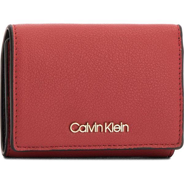 17fdfb19e21e7 Mały Portfel Damski CALVIN KLEIN BLACK LABEL - Ck Candy Small Walle  K60K604339 627 - Czerwone portfele damskie Calvin Klein Black Label. Za  249