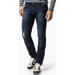 Armani Exchange - Jeansy męskie, niebieski. Czarne jeansy męskie marki Armani Exchange, l, z materiału, z kapturem. Za 449,95 zł.