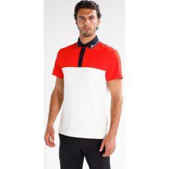 J.LINDEBERG JOHAN SLIM TOURQUE Koszulka polo racing red. Czerwone koszulki polo J.LINDEBERG, l, z materiału. W wyprzedaży za 227,40 zł.