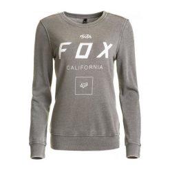 Bluzy rozpinane damskie: FOX Bluza Damska Xs Szara