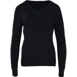 Swetry klasyczne damskie: Czarny Sweter Just A Drop