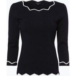 Swetry klasyczne damskie: Comma – Sweter damski, niebieski