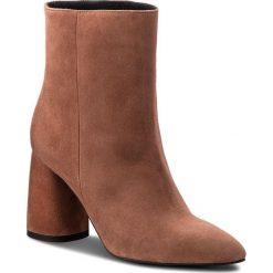 Botki EVA MINGE - Hellin 3F 18GR1372414ES  804. Brązowe buty zimowe damskie Eva Minge, ze skóry. W wyprzedaży za 359,00 zł.