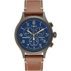 Zegarki męskie: Timex EXPEDITION GRID SHOCK Zegarek chronograficzny blue/brown