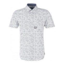 S.Oliver Koszula Męska L Biały. Szare koszule męskie na spinki marki S.Oliver, l, z bawełny, z włoskim kołnierzykiem, z długim rękawem. Za 159,00 zł.