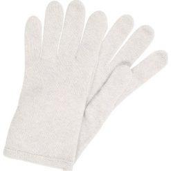 Rękawiczki damskie: Bickley+Mitchell Rękawiczki pięciopalcowe light grey melee