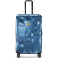 Walizka Icon duża niebieska. Szare walizki marki Crash Baggage, z materiału. Za 1120,00 zł.