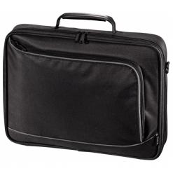"""Hama Sportsline Boreaux 15.6"""" czarna. Czarne torby na laptopa HAMA, z materiału. Za 89,90 zł."""