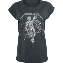 Metallica Raining Light Koszulka damska szary. Szare bluzki z odkrytymi ramionami Metallica, xl, z nadrukiem, z okrągłym kołnierzem. Za 109,90 zł.