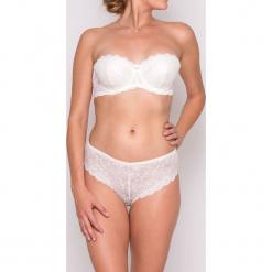 """Biustonosz """"Glora"""" w kolorze białym. Białe biustonosze koronkowe marki Mare, z haftami. W wyprzedaży za 113,95 zł."""