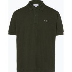 Lacoste - Męska koszulka polo, zielony. Szare koszulki polo marki Lacoste, z bawełny. Za 379,95 zł.