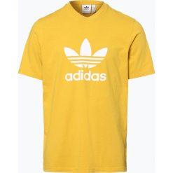 T-shirty męskie: adidas Originals – T-shirt męski, żółty