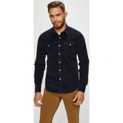 Levi's - Koszula. Brązowe koszule męskie na spinki Levi's®, l, z bawełny, z klasycznym kołnierzykiem, z długim rękawem. Za 259,90 zł.
