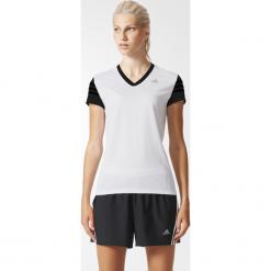 Koszulka adidas White/Black RS Cap SS W (AC2146). Białe bralety marki Adidas, z bawełny, z długim rękawem, długie. Za 49,99 zł.