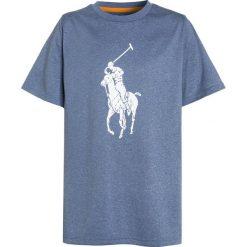 Polo Ralph Lauren BIG  Tshirt z nadrukiem seahorse heather. Niebieskie t-shirty chłopięce Polo Ralph Lauren, z nadrukiem, z materiału. Za 149,00 zł.