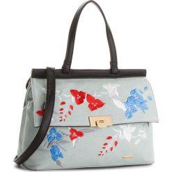 Torebka WITTCHEN - 86-4Y-551-N Niebieski. Niebieskie torebki klasyczne damskie Wittchen, z materiału. W wyprzedaży za 169,00 zł.