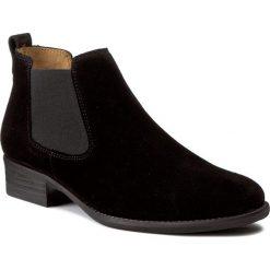 Sztyblety GABOR - 71.640.17 Schwarz. Czarne buty zimowe damskie Gabor, z materiału. W wyprzedaży za 309,00 zł.