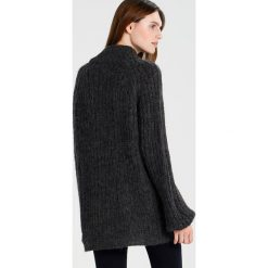 Swetry klasyczne damskie: Vero Moda Tall VMBUELLTON HIGHNECK  Sweter dark grey melange