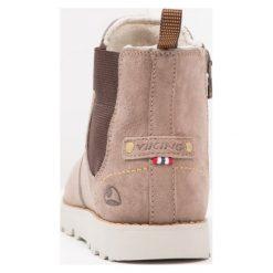 Viking LOEKKA GTX Śniegowce taupe. Brązowe buty zimowe damskie Viking, z materiału. W wyprzedaży za 344,25 zł.