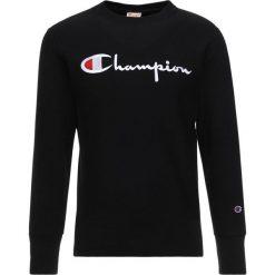 Champion Reverse Weave CREWNECK  Bluza black. Czarne bluzy męskie Champion Reverse Weave, m, z bawełny. Za 359,00 zł.