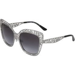 Okulary przeciwsłoneczne damskie: Dolce&Gabbana Okulary przeciwsłoneczne gunmetal