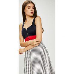 Haily's - Sukienka Soraja. Szare sukienki dzianinowe Haily's, na co dzień, l, casualowe, na ramiączkach, mini, dopasowane. W wyprzedaży za 89,90 zł.