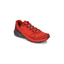 Buty do biegania Salomon  SENSE RIDE GTX® INVISIBLE FIT. Czerwone buty do biegania męskie marki Salomon. Za 674,10 zł.