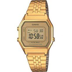 Zegarek damski Casio Collection LA680WEGA-9ER. Brązowe zegarki męskie marki CASIO. Za 270,00 zł.