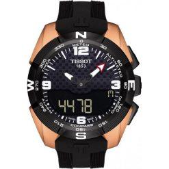RABAT ZEGAREK TISSOT Special Collection T091.420.47.207.00. Czarne zegarki męskie TISSOT. W wyprzedaży za 3960,00 zł.