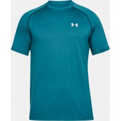 Koszulki sportowe męskie: Under Armour Koszulka męska Tech Short Sleeve T-Shirt Tourmaline Teal r. XL (1228539716)